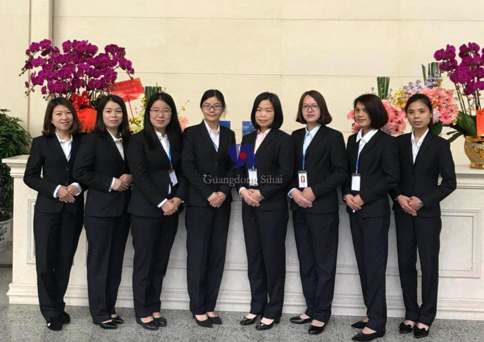 guangdong sihai sale team