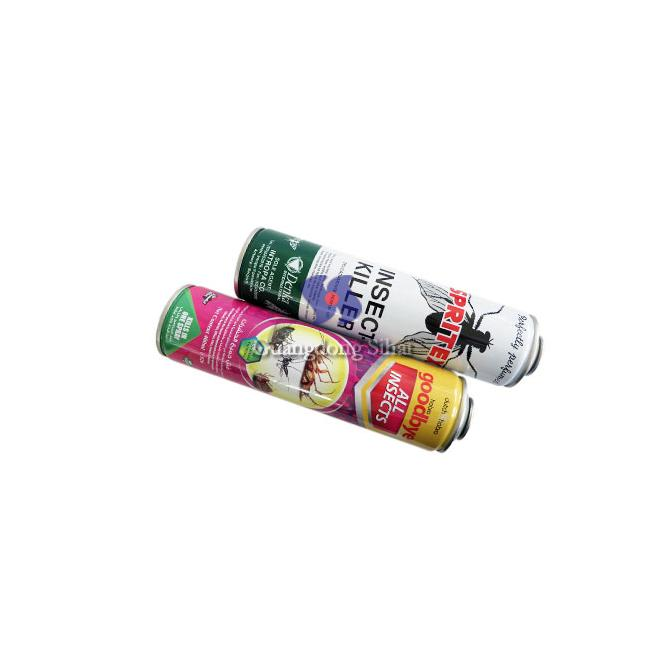 insect spray aerosol tin can