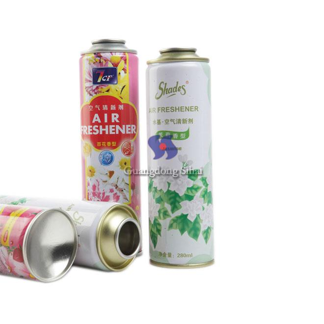 tinplate air freshener can