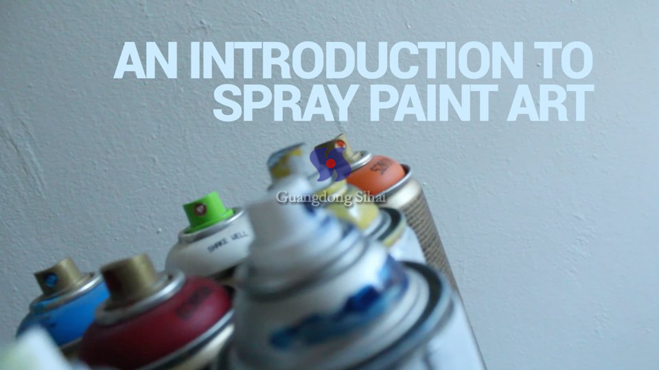 empty spray paint can