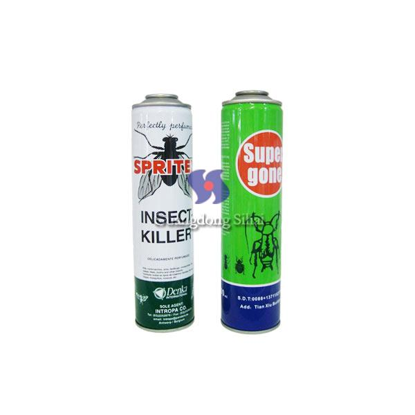 aerosol can for insect killer