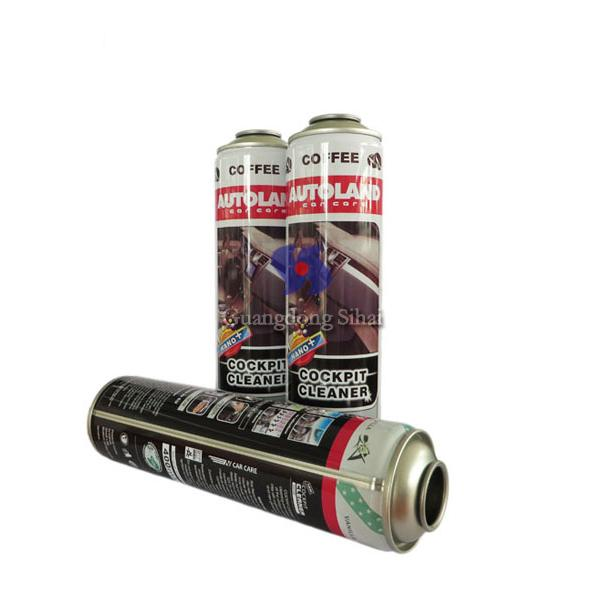 aerosol spray tin can