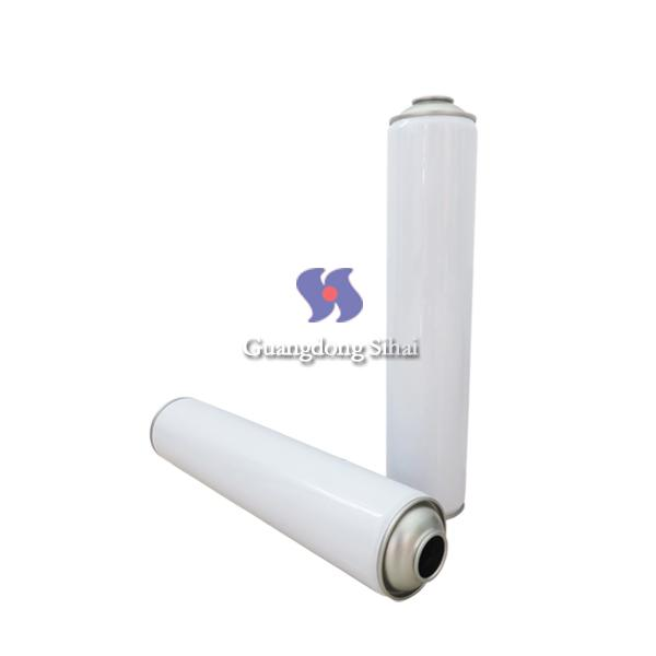 white coating spray can