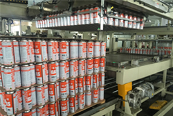 aerosol can packing