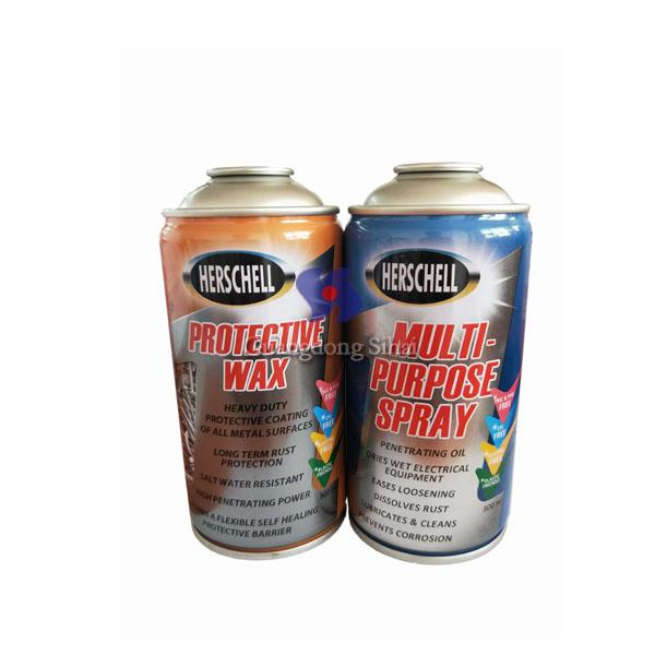 refillable necked in cans