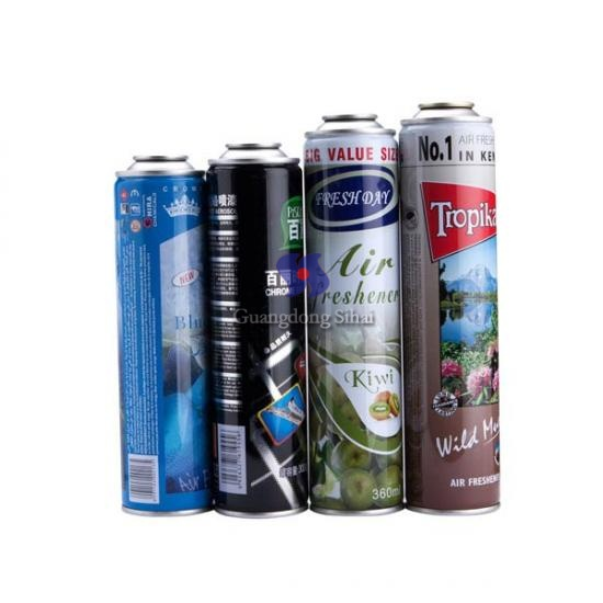 Car Cleaner Aerosol Tin Cans