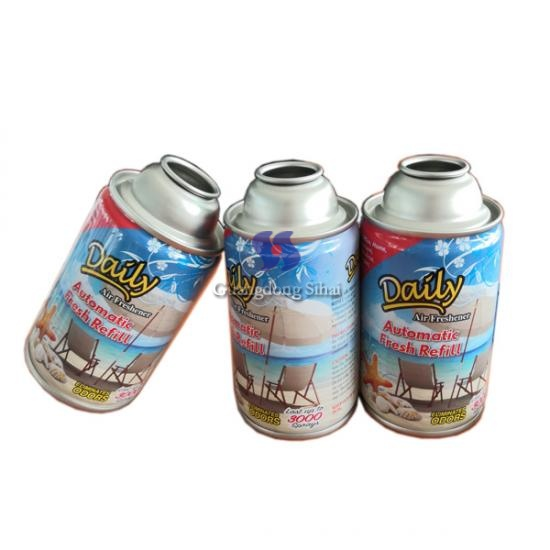 Car Care Products Tinplate can