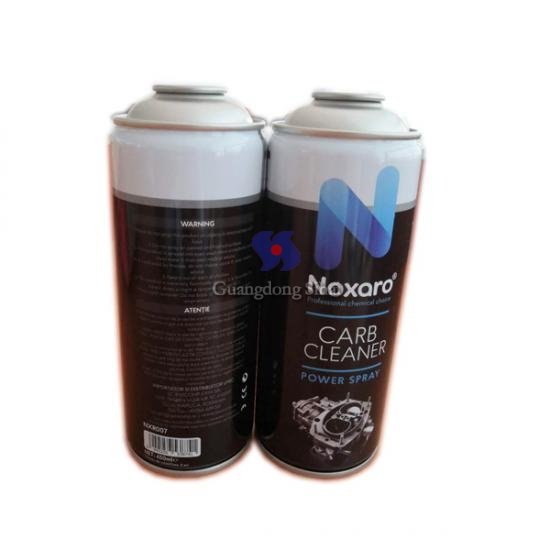 Normal pressure necked-in aerosol tin can