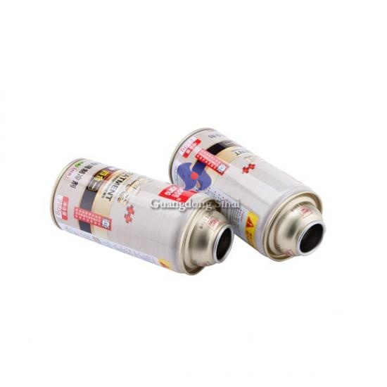 Empty Aerosol Tinplate Cans For Refrigerant 134a