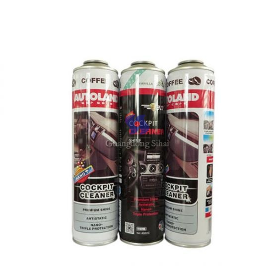 car care spray can