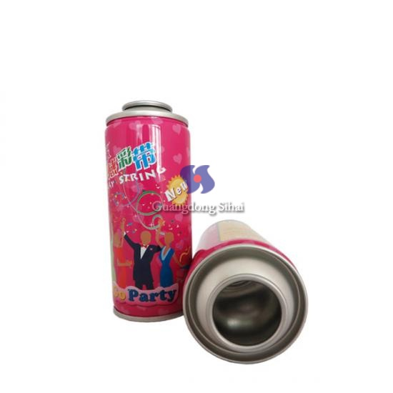 Empty Party String Spray Can